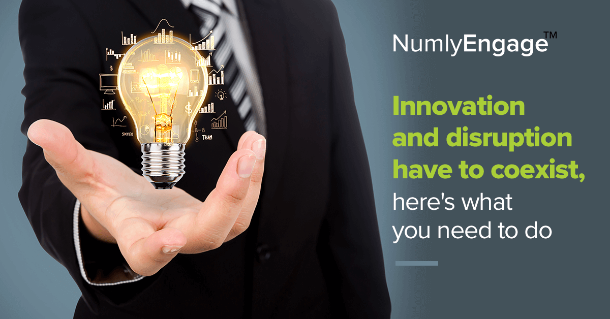 When the Threat of Disruption Is the New Normal, How Are Enterprises Fostering Innovation?